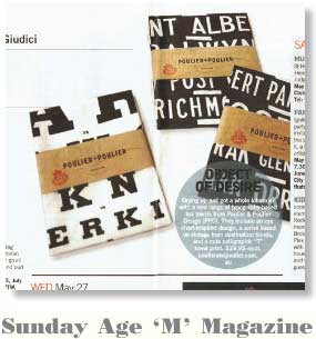 Sunday Age 'M' Magazine